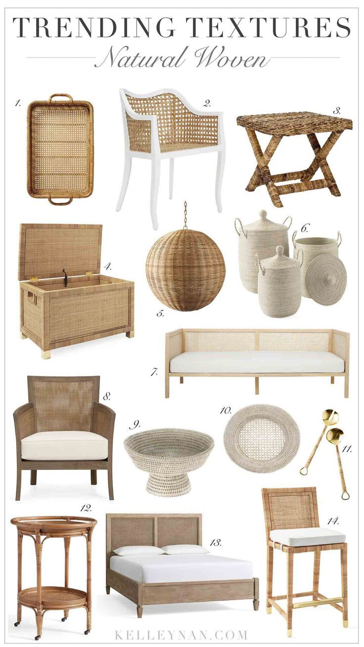 Photo of On Trend: Rattan, Cane, and Natural Woven Home Decor and Furnishings