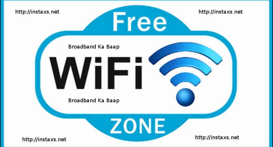 Download Free WiFi App  Broadband Ka Baap and use Free WiFi