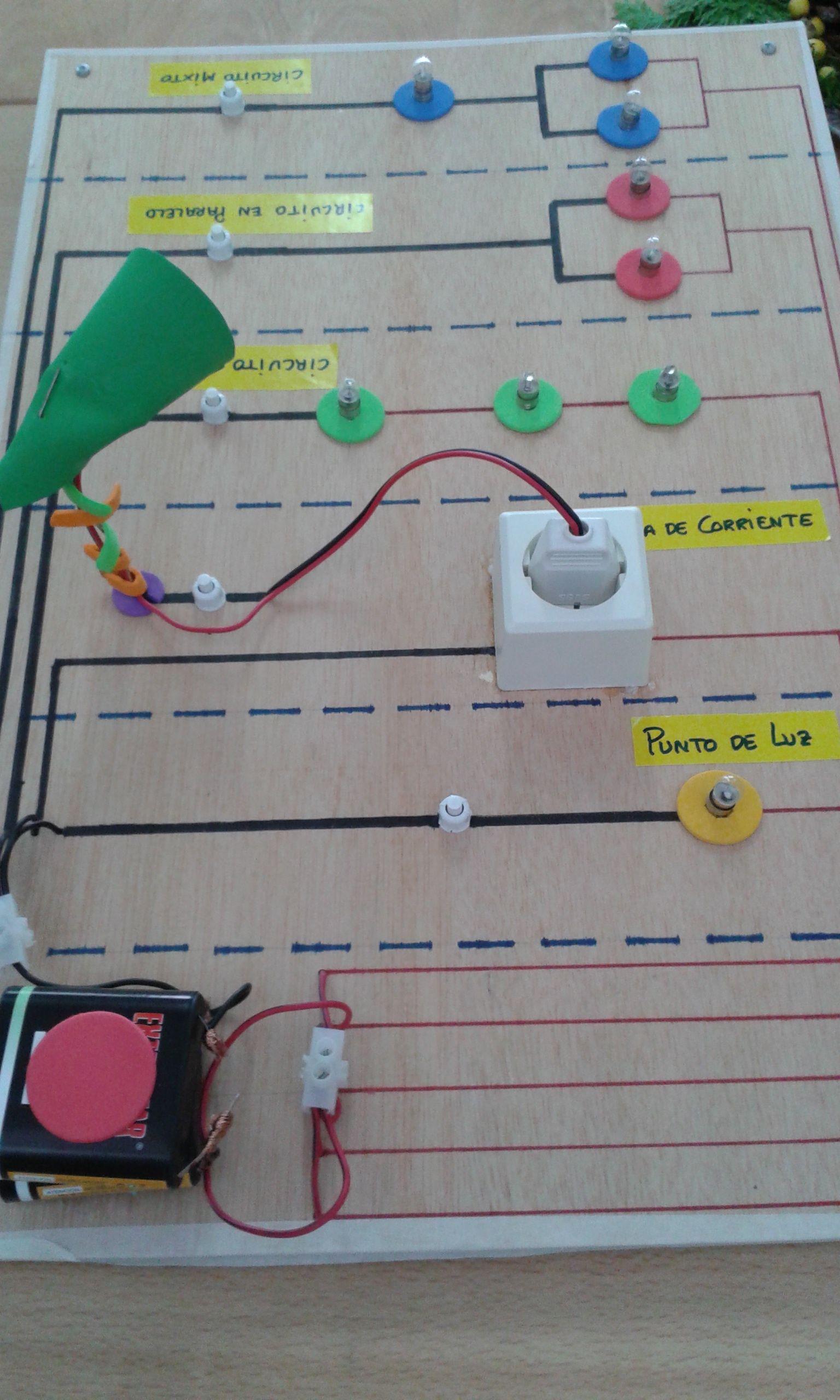 Circuito Seri E Paralelo : Simulador de circuitos eléctricos básicos en serie paralelo y