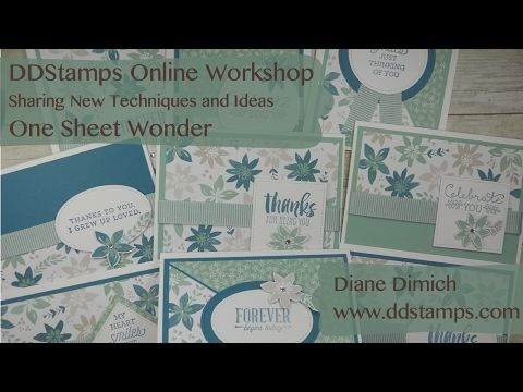 Join me for an online Stampin' Up! Workshop this Thursday! - DDStamps with Diane Dimich, Stampin' Up! Demonstrator