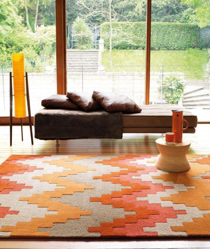 Teppich Wohnzimmer Orient Carpet Skandinavisches Design MATRIX CUZZO RUG Wolle