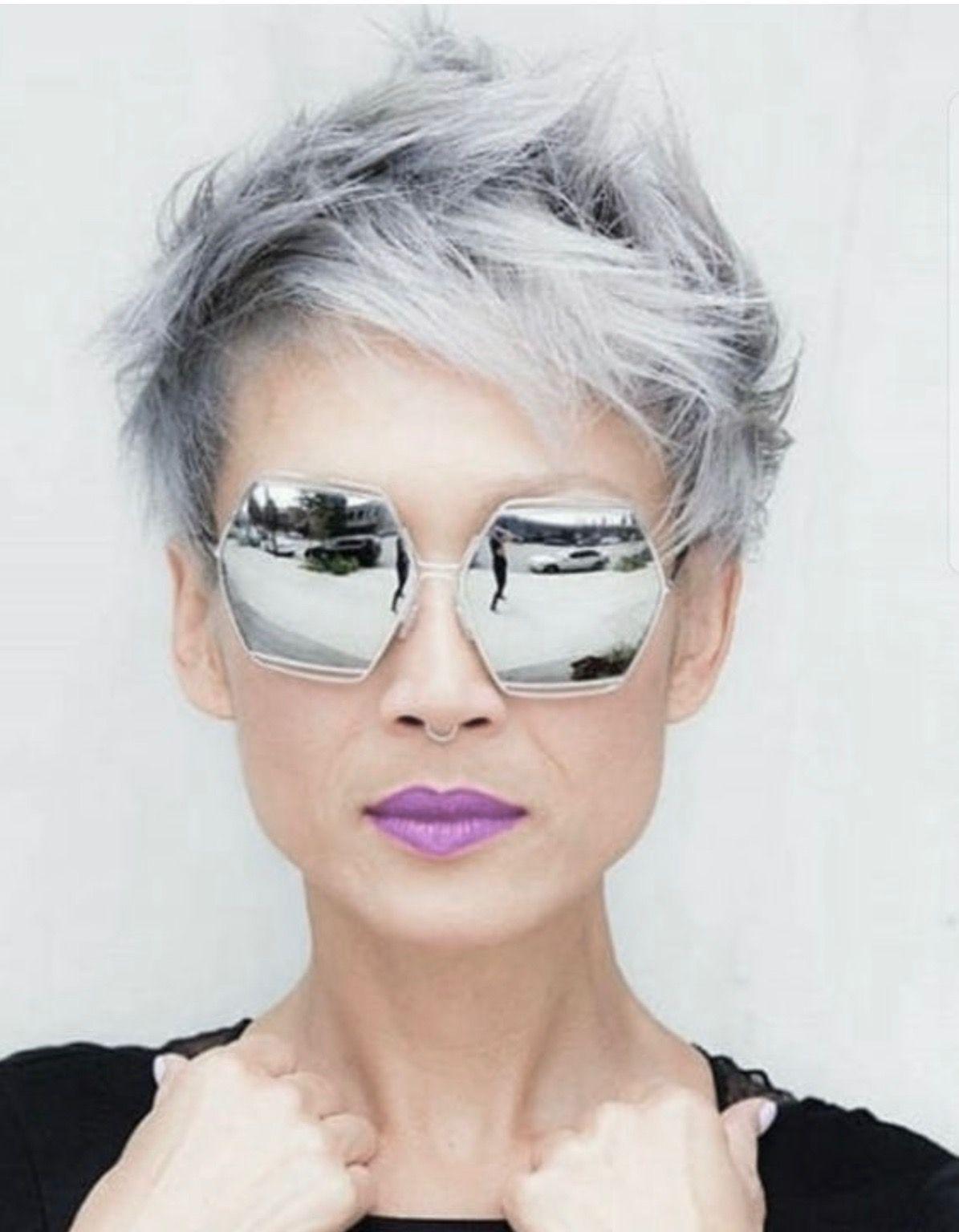 #hair #trend | Capelli cortissimi, Stili di capelli corti ...