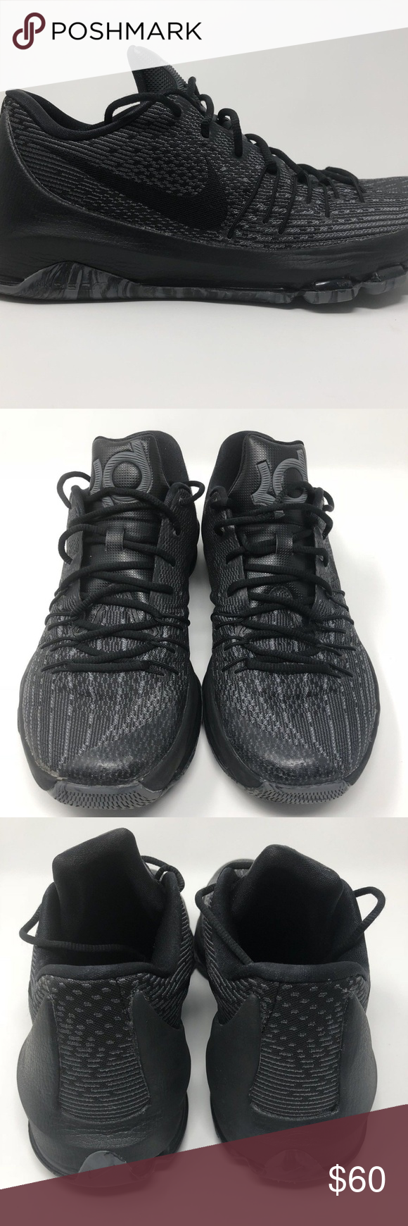 low cost 2fb6c 9ccf0 ... wholesale nike kd 8 blackout sz 10.5 item mens kd8 blackout basketball  shoes brand a0476 6ea6d