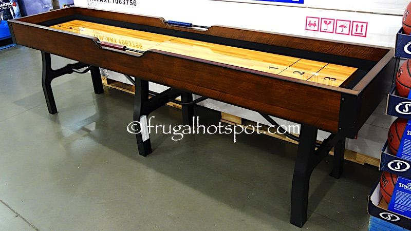 Costco Has This Vintage Shuffleboard Table In Stores For A Limited Time.