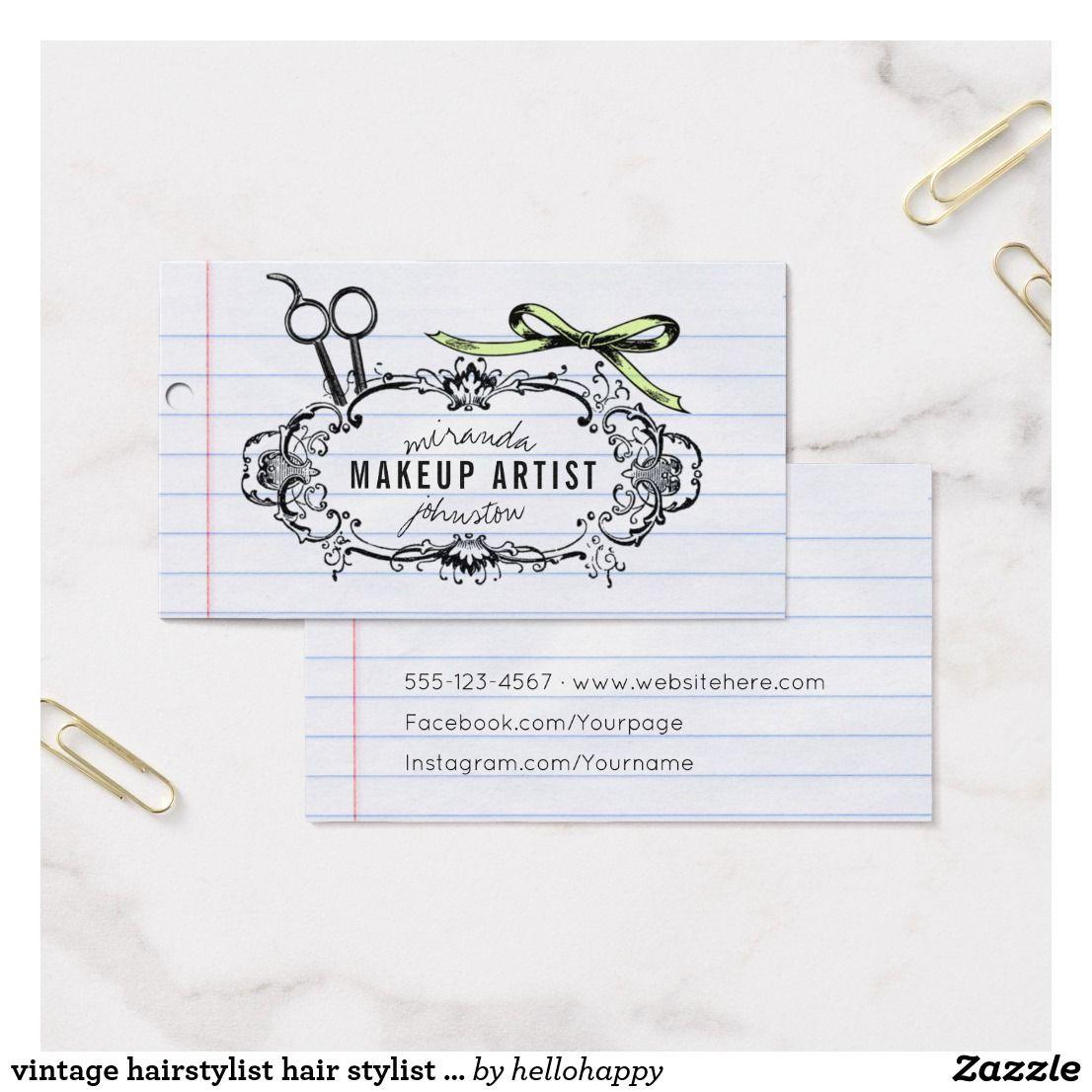 Vintage hairstylist hair stylist calligraphy bow business card vintage hairstylist hair stylist calligraphy bow business card colourmoves