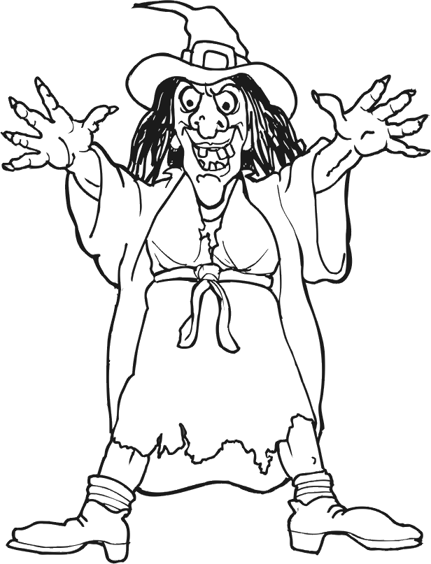 Pretty Witch Coloring Pages Witch Coloring Pages Halloween Coloring Pages Coloring Pages
