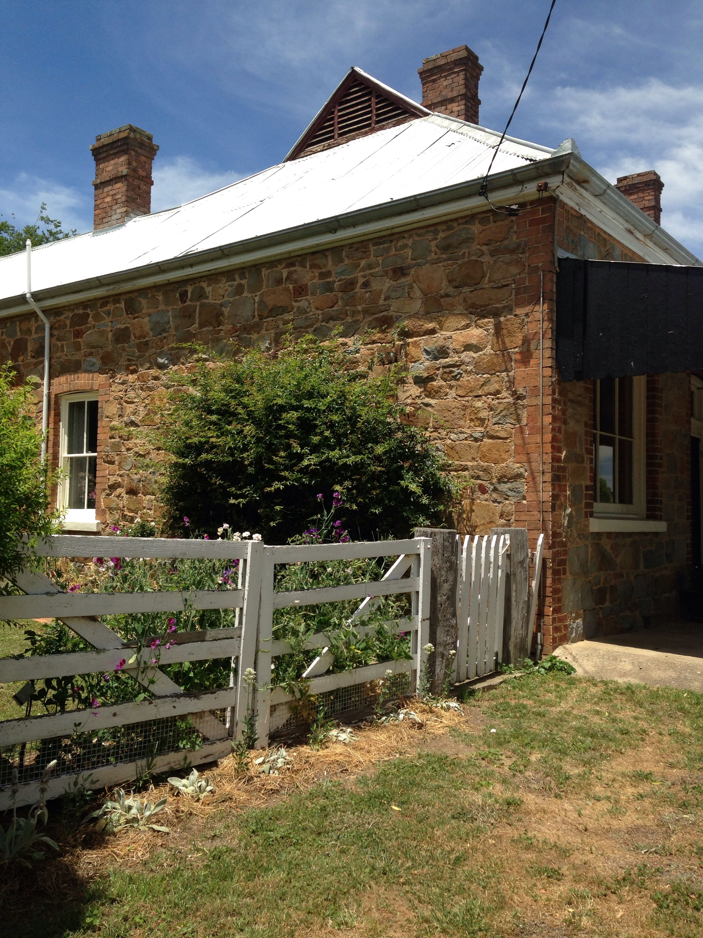 1800s Country Homes: Stone Cottage, Binda, NSW, Australia. Typical Homestead