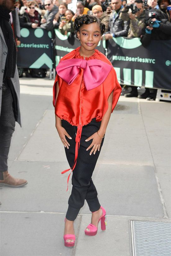 Style File Black Ish And Little Star Marsai Martin Is