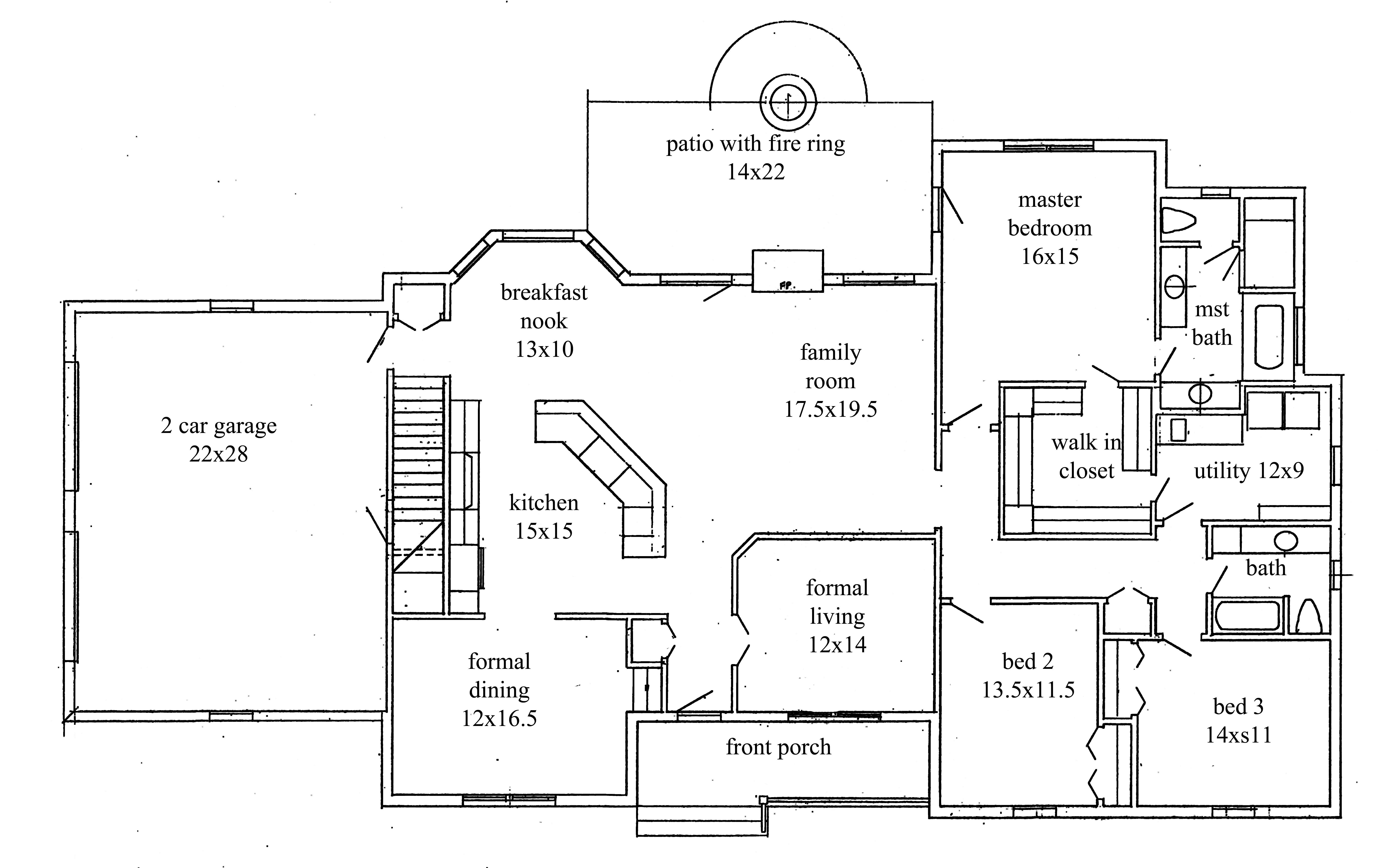 rockingranch21stfloor.jpg (7356×4559) Basement house