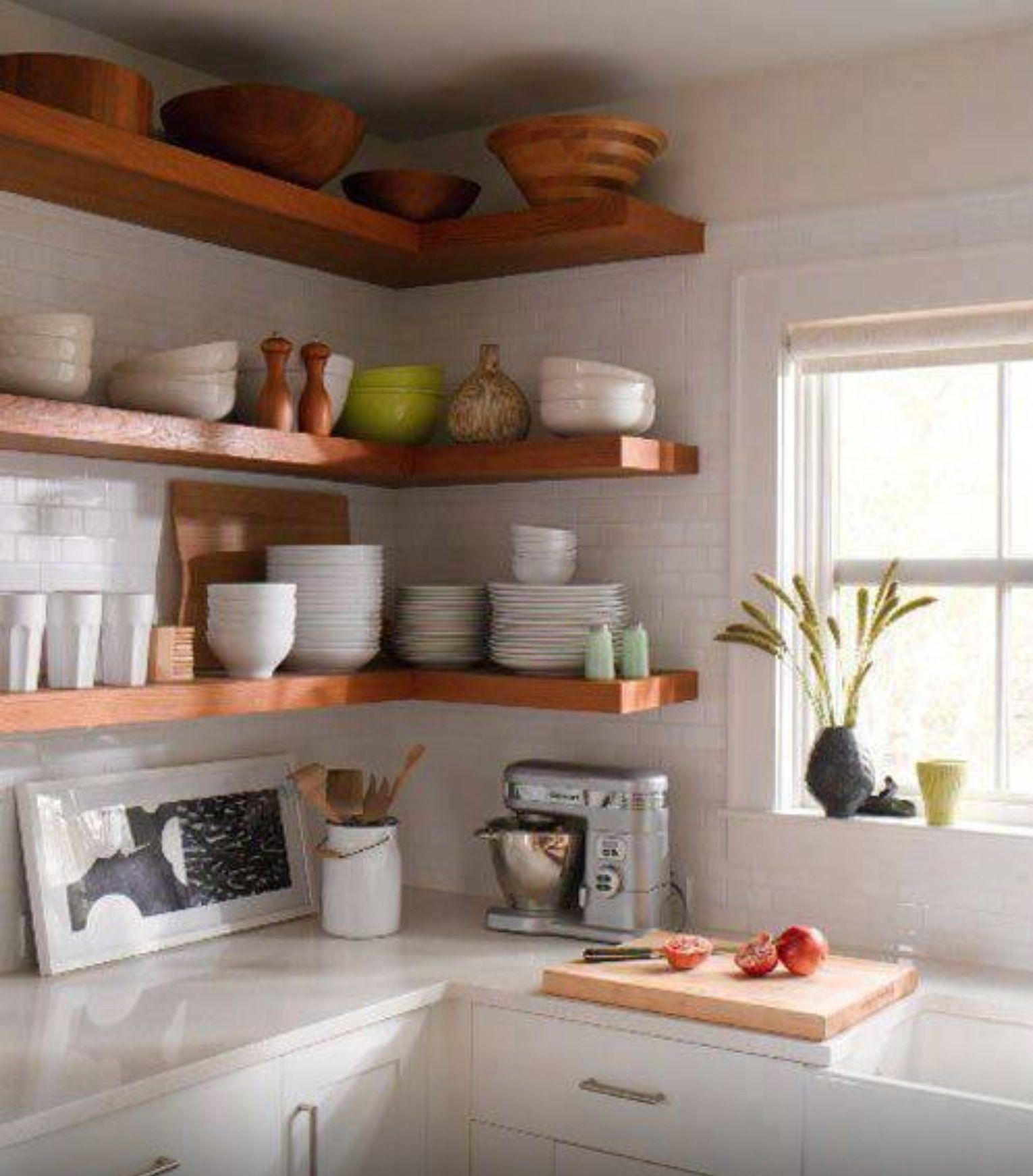Clean kitchen | Colors for small kitchen | Pinterest | Diseño de ...