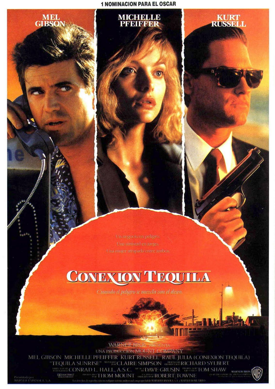 tequila sunrise 1988 cinemascope visto pinterest