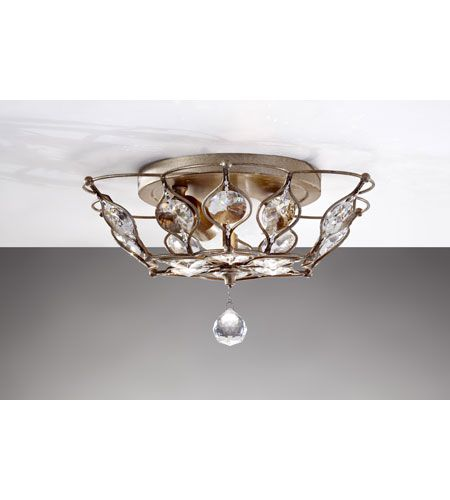 Ceiling · murray feiss leila 2 light indoor flush mount