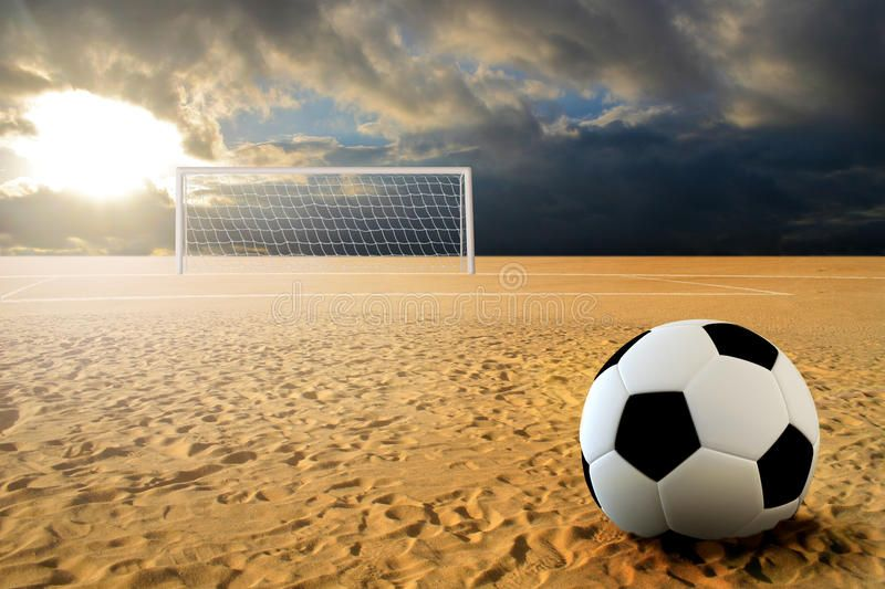 Soccer Penalty Kick Soccer Ball On Penalty Disk In Sand Beach Ad Kick Penalty Soccer Ball Beach Ad Soccer Penalty Kick Soccer Penalty Kick