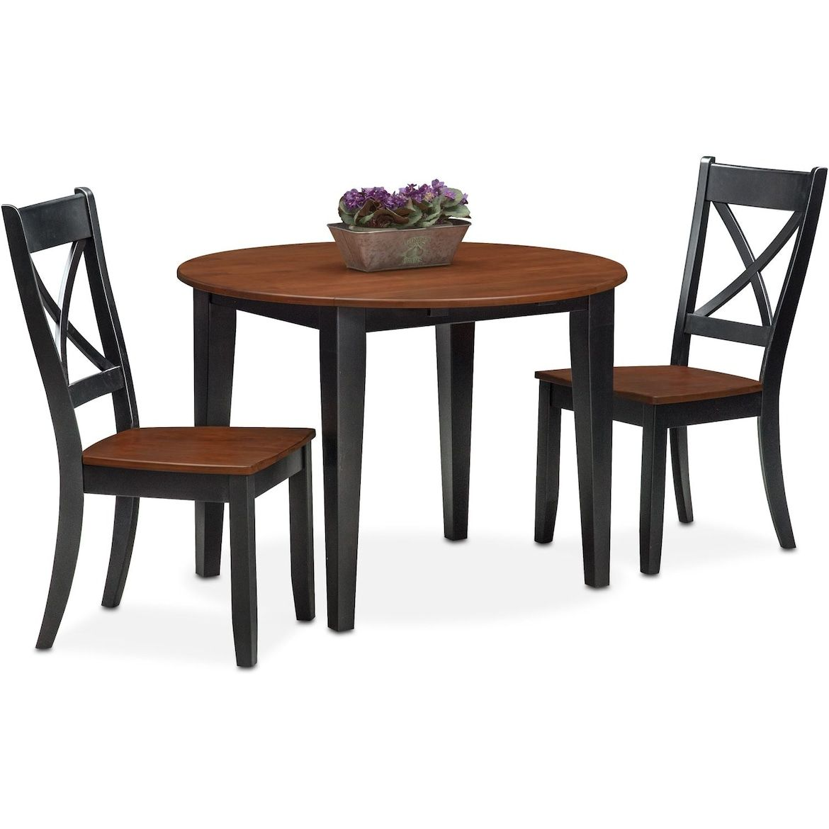 Nantucket Drop Leaf Dining Table And 2 Dining Chairs Dining