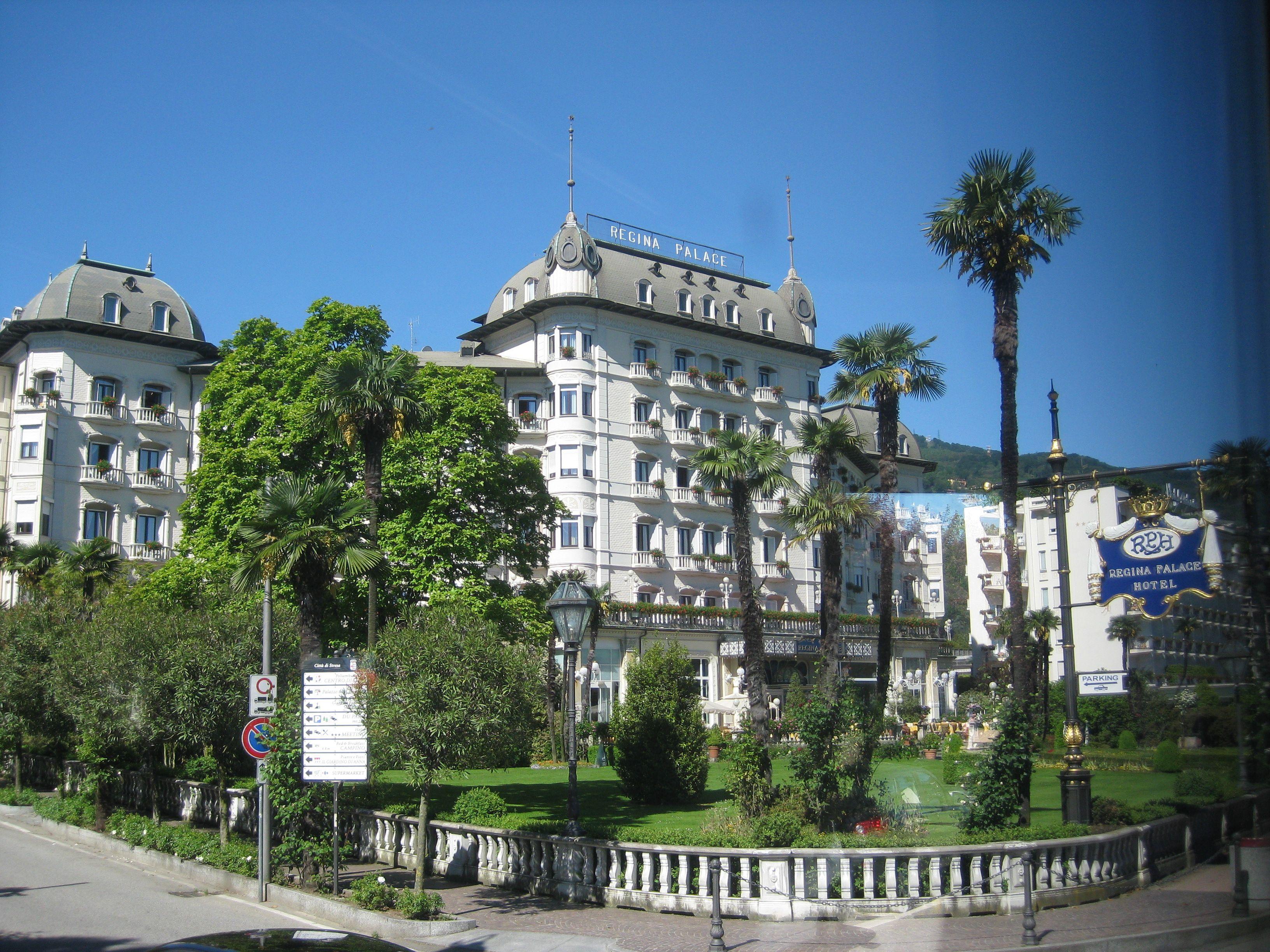 Regina Palace Hotel Stressa Italy Places To Go Regions Of Italy Italy Bucket List