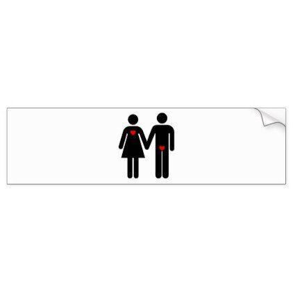Womens love vs mens love bumper sticker christmas stickers xmas eve custom holiday merry christmas christmas stickers pinterest