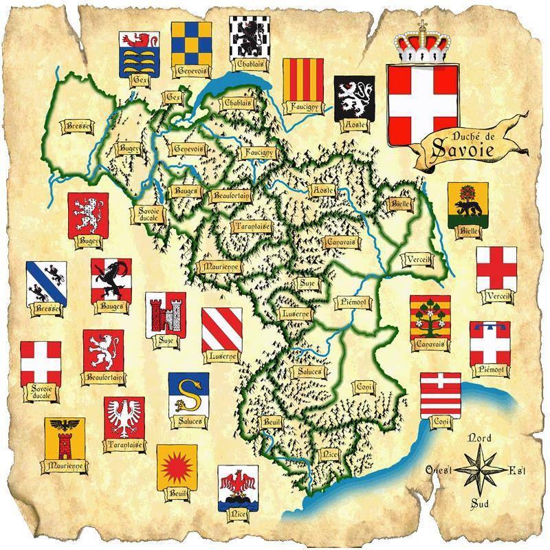 Armorial Colorie De La Maison De Savoie Et De Ses Alliances Depuis Berold Comte De Maurienne Jusqu Aux Enfants De Phil Maison De Savoie Roi De France Savoie