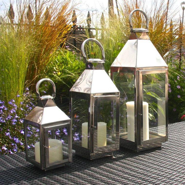Lanterne Da Esterno.Lanterne Da Esterno Come Illuminare Il Giardino Con