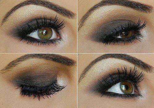 pretty make up for hazel eyes  taupe eyeshadow beautiful