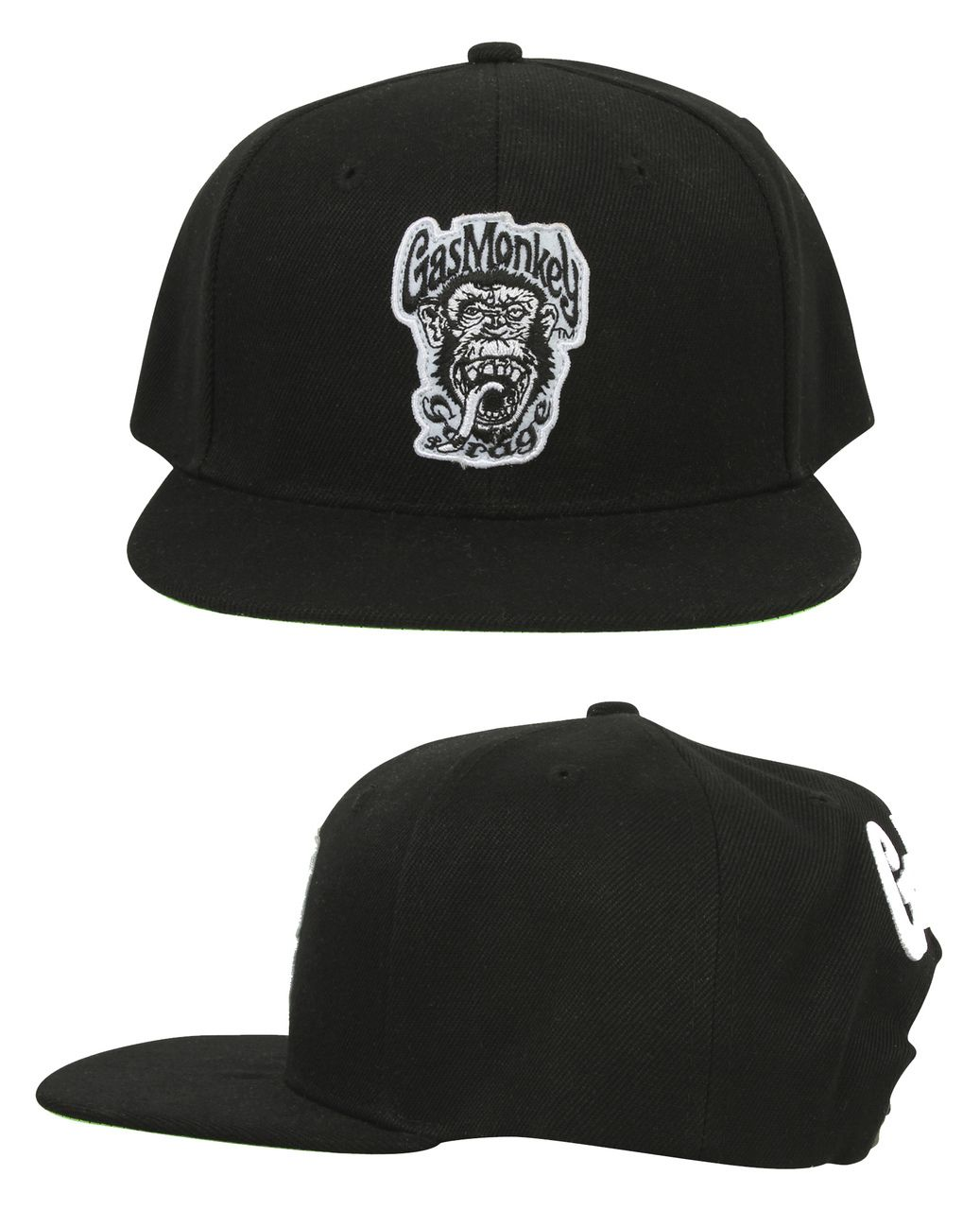c593713b29d52 The Green Monkey GMG snap-back is our number one selling Gas Monkey Garage  cap