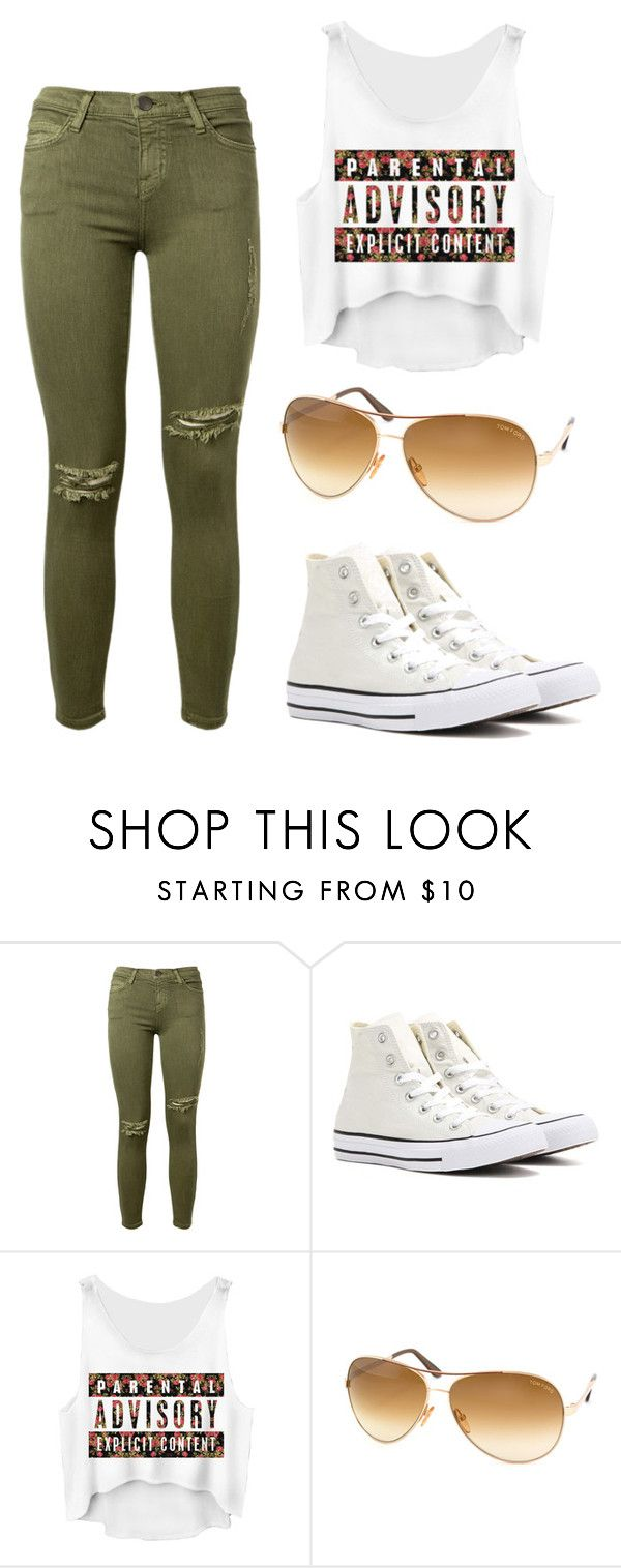 """""""Untitled #22"""" by venlaurora ❤ liked on Polyvore featuring Current/Elliott, Converse and Tom Ford"""