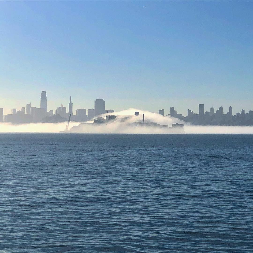 Paul Vincent Wiseman On Instagram Morning Fog On Alcatraz The