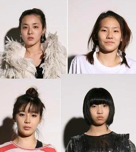 2ne1 no makeup 2ne1 yg entertainment and make up