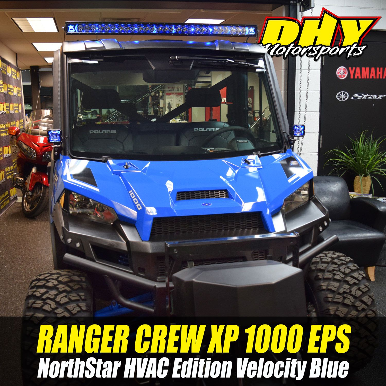 Polaris #Ranger Crew #XP1000 EPS #Northstar HVAC Edition is