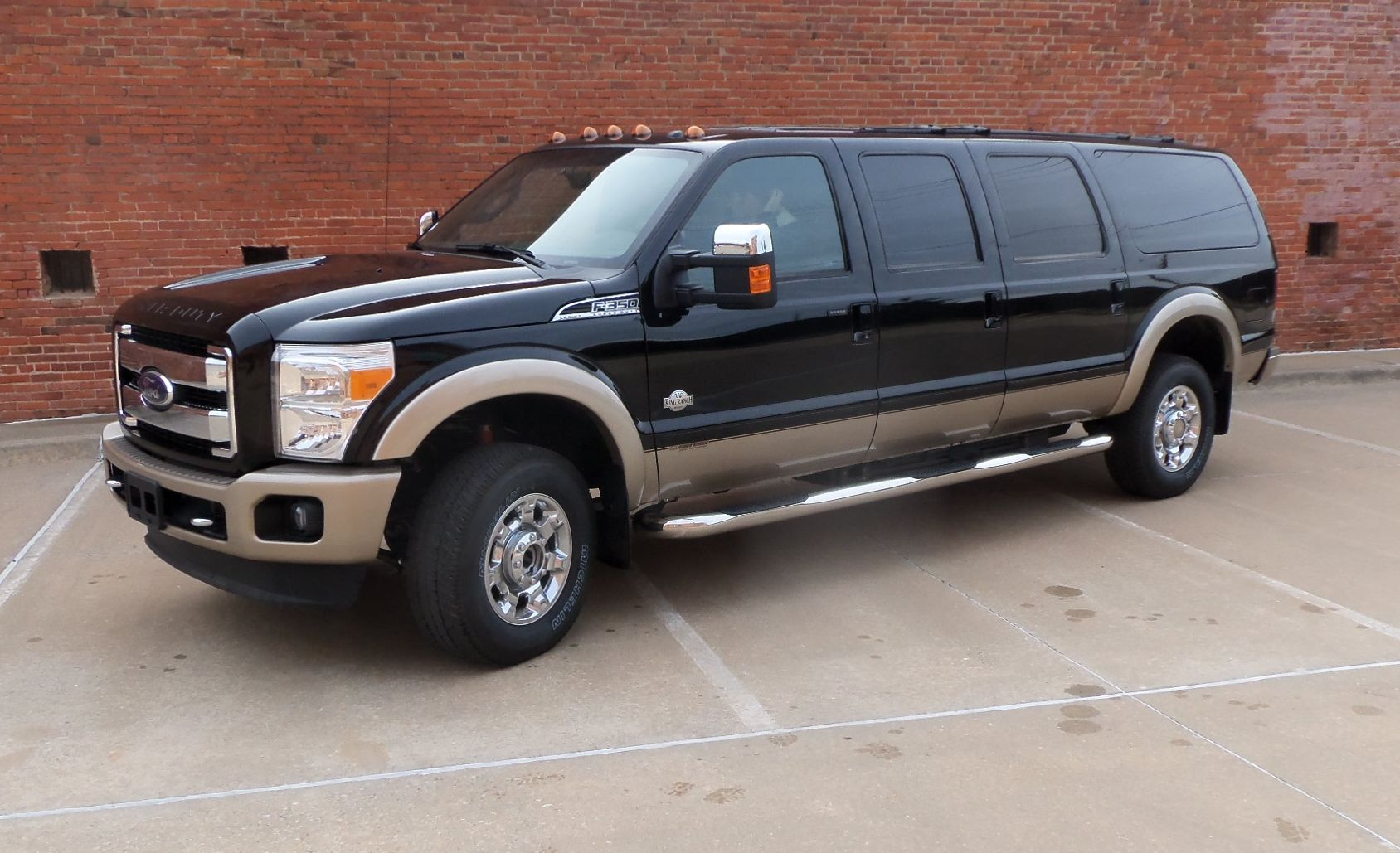 2012 Ford Excursion King Ranch Ford Excursion Ford Excursion