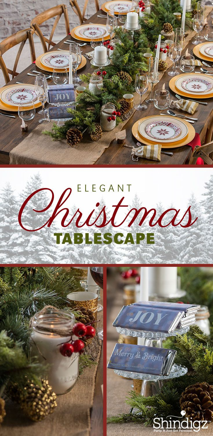 From personalized Christmas banners to festive tableware the perfect Christmas party starts with the right & From personalized Christmas banners to festive tableware the ...