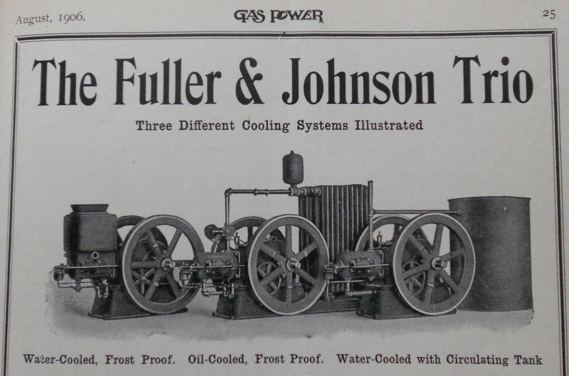fuller and johnson manufacturing history - Google Search