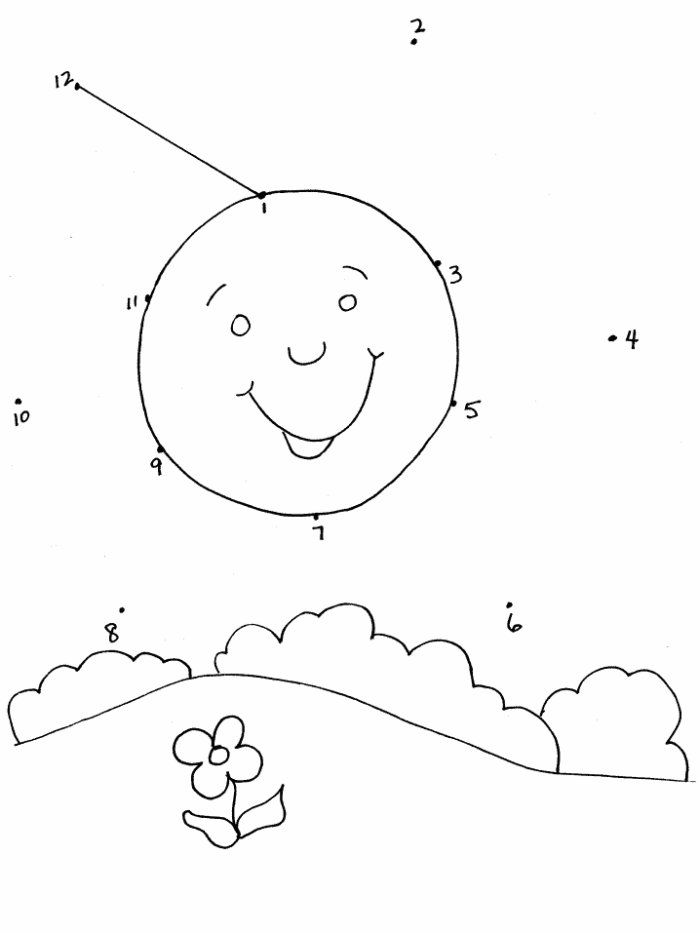 Dot To Dot Coloring Pictures Canadian Entertainment And Learning – Free Dot to Dot Worksheets for Kindergarten