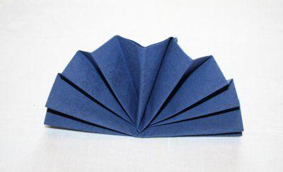 Servietten Falten Fächer servietten falten fächer diy servietten falten