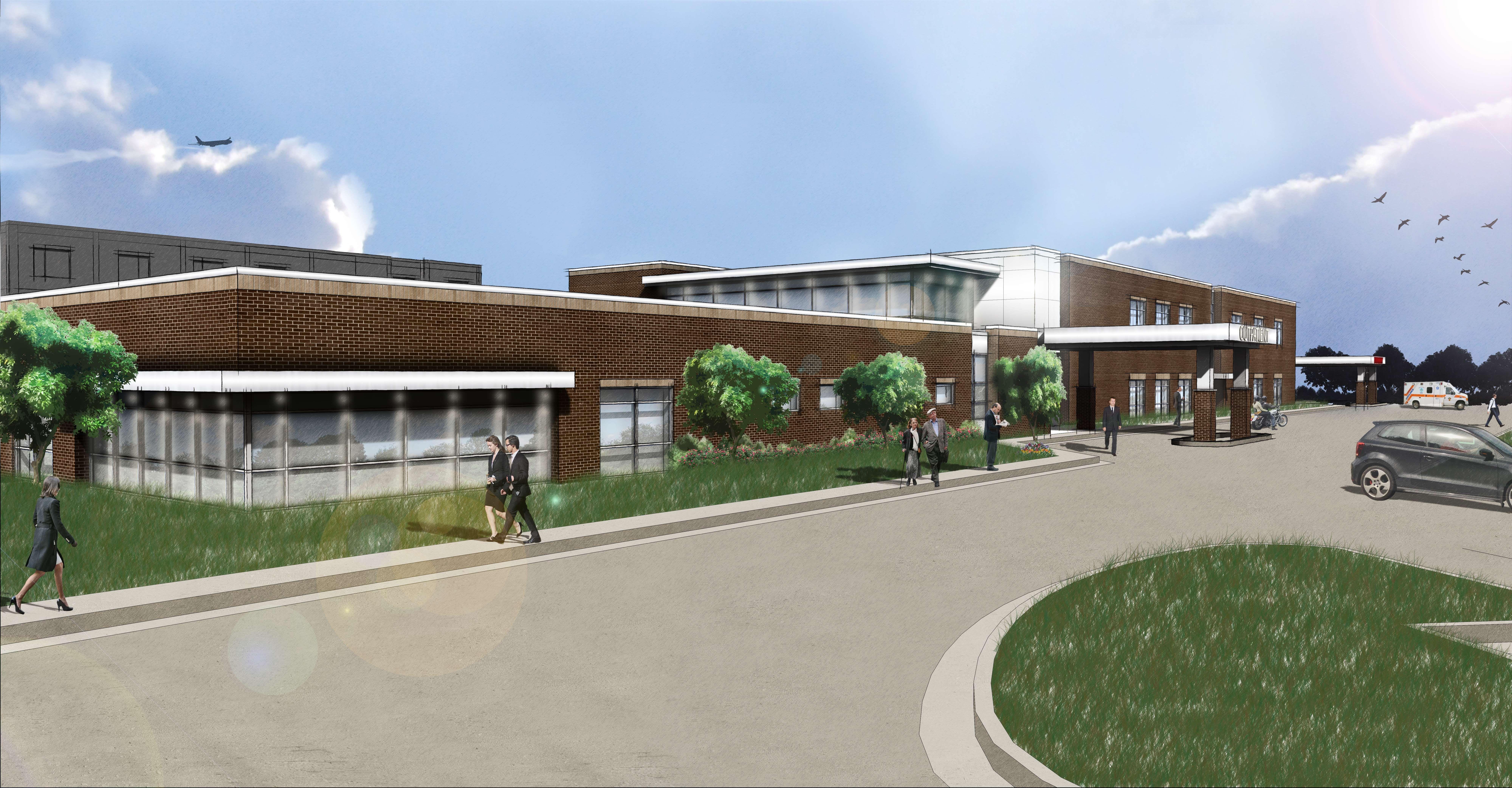 Golden valley memorial hospital outpatient expansion