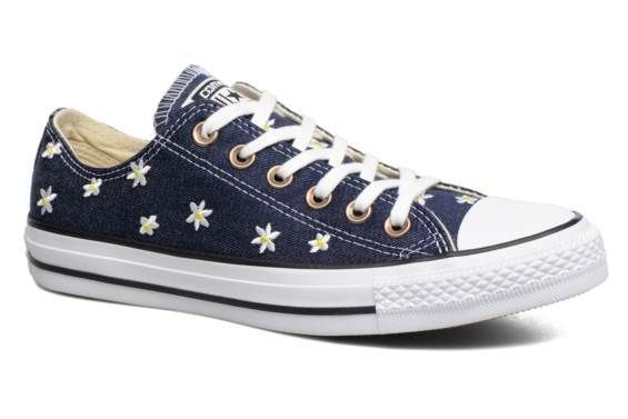 converse chuck taylor all star ox mujer azul