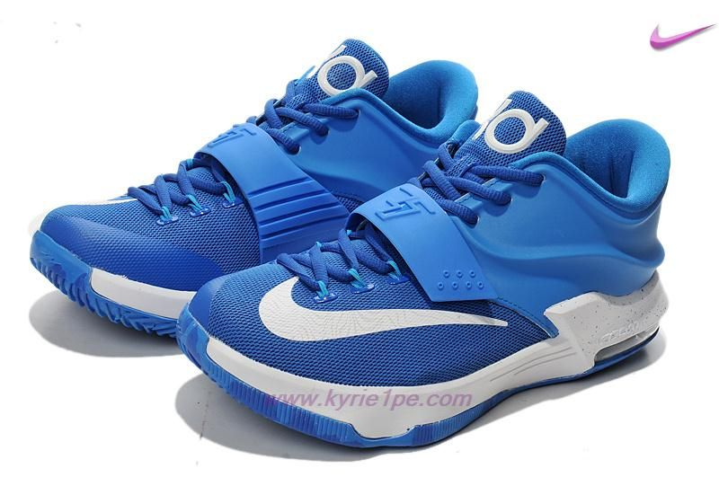 Uomo KD009439 Blu Turchese Blu Royal Bianco Nike KD 7(VII)