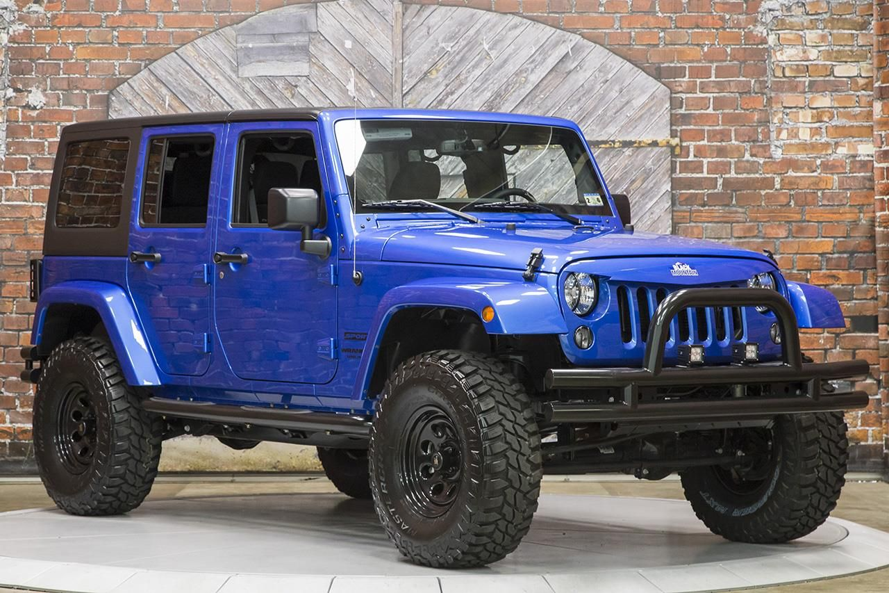 2015 Jeep Wrangler Unlimited Sport Automatic (With images