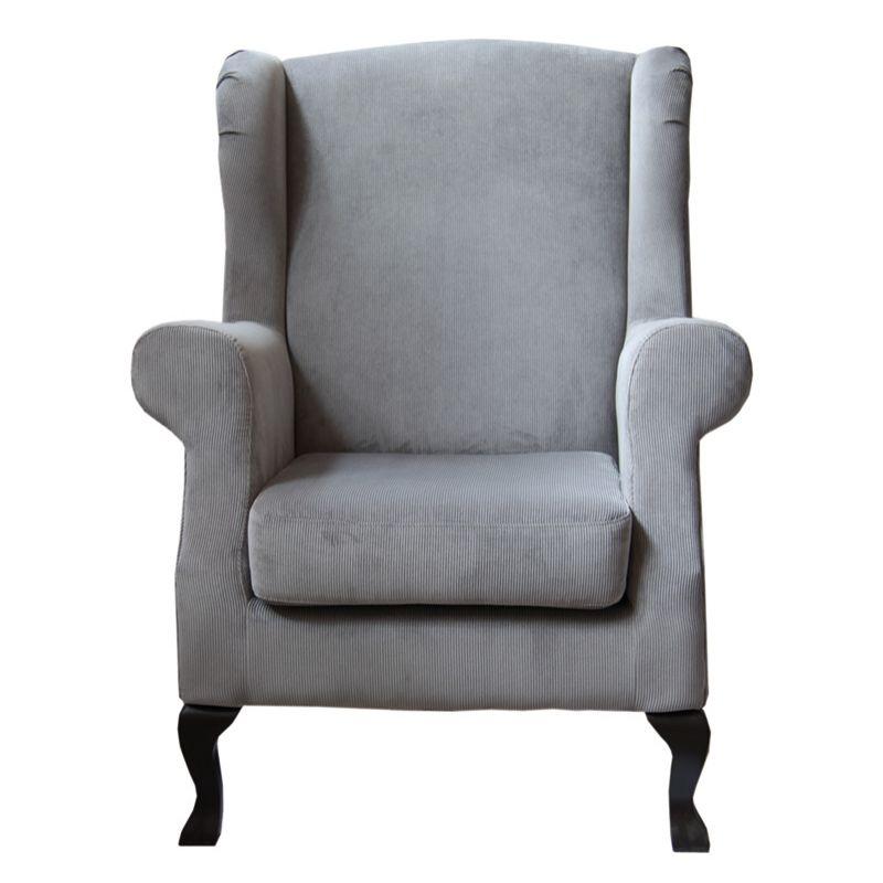 Zu finden auf http://www.my-little-store.de/ieer5p28f30a8zls:197 Sessel VERSAILLES von Die Wohngeschwister  Dieser Sessel erinnert an Großvaters Zeiten: Der klassisch geformte Ohrensessel mit geschwungenen Holzfüssen ist super bequem und ein Blickfang der besonderen Art! Den Sessel erhälst Du in verschiedenen Lederarten, Stoffen und Farben. Und wenn es noch bequemer werden soll, bestell Dir direkt den passenden Hocker dazu