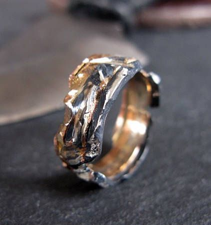 mens wedding band mens wedding ring viking wedding ring rustic - Viking Wedding Rings