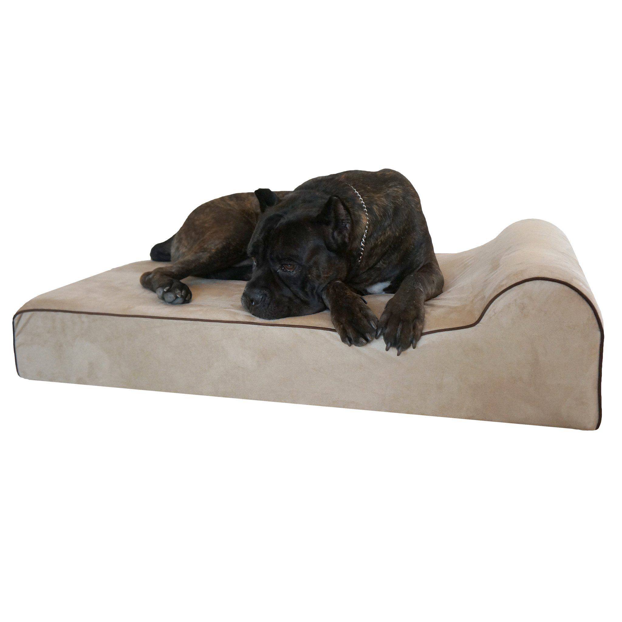 Bully beds Orthopedic Memory Foam Dog Bed Waterproof
