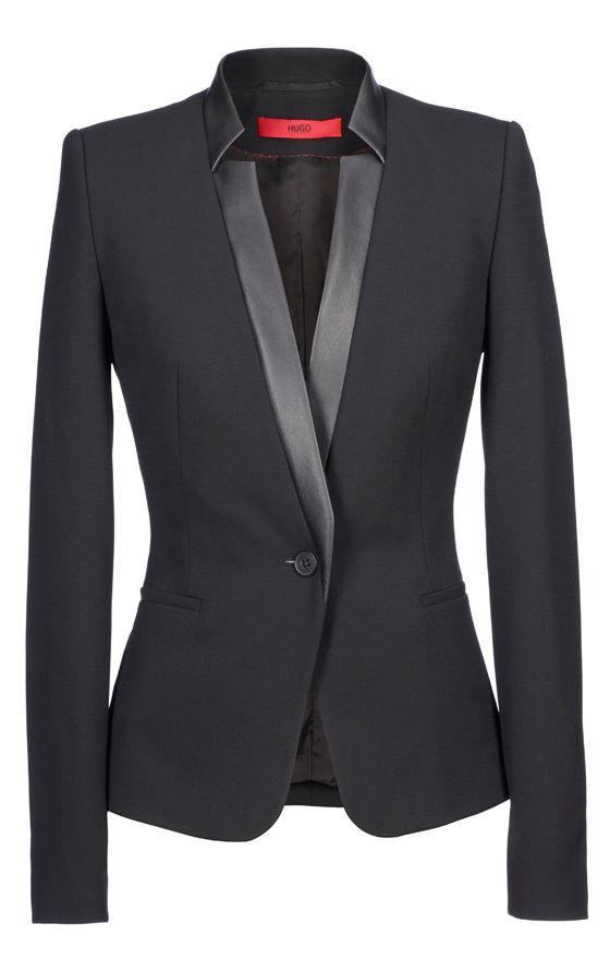 this blazer is serious! #HugoBoss All this needs, is me in it!