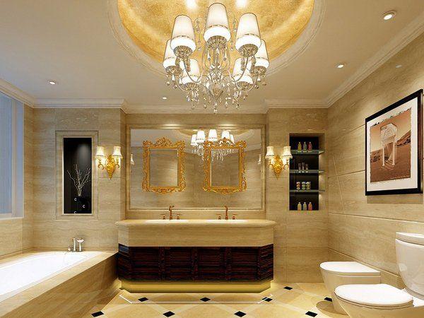 Bathroom Ceiling Design Ideas Luxury Bathroom Marble Walls  Tu B Simple Pictures Of Luxury Bathrooms Design Decoration