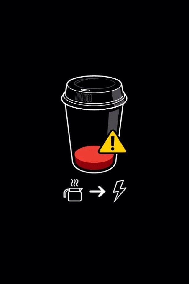 Low of Coffee iPhone wallpaper mobile9 Papel de