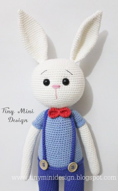 Tiny Mini Design-Amigurumi Bunny Free Pattern | amigurumi ...