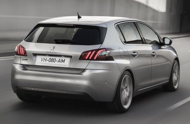 Release Peugeot 308 Review Rear Side View Model