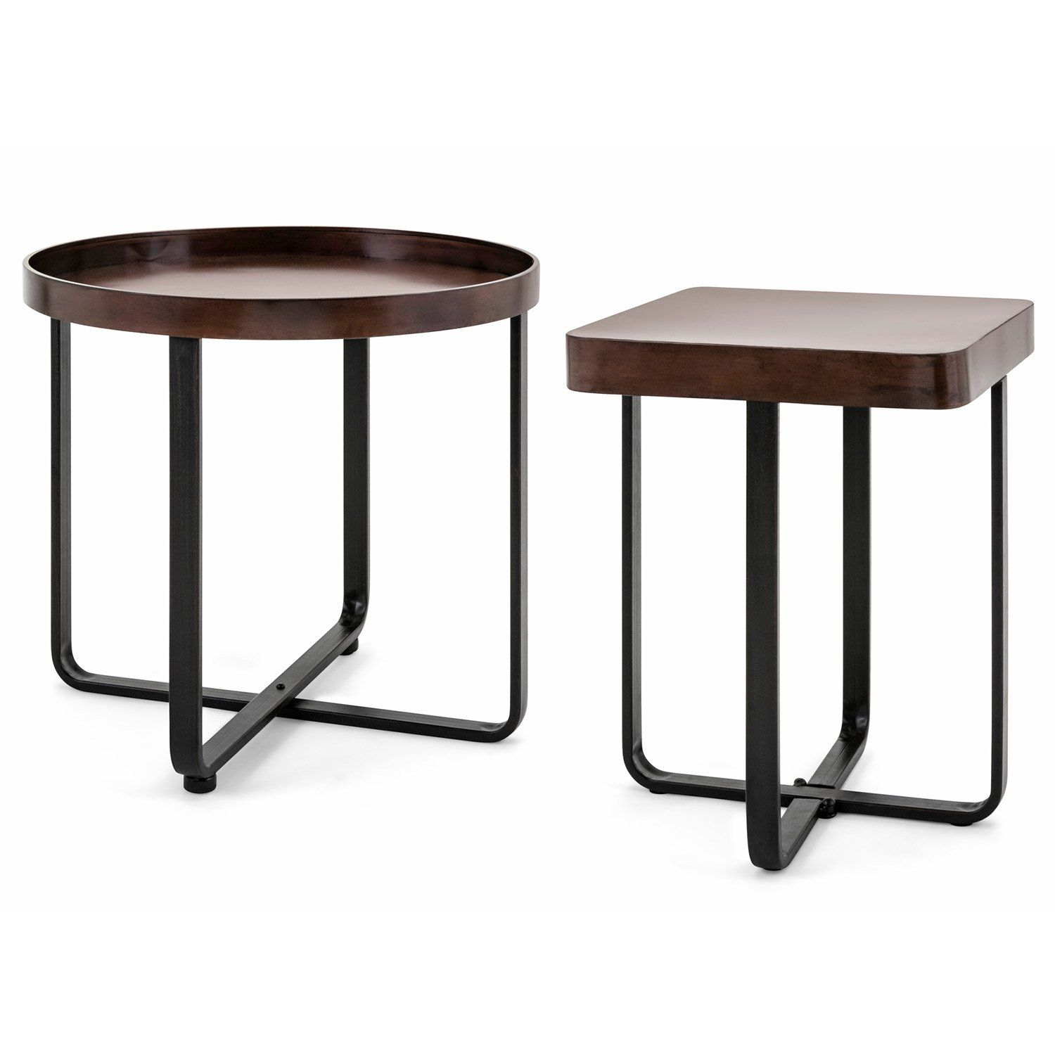 Lennon Accent Table Set Of 2 Accent Table Sets Accent Table Table [ 1500 x 1500 Pixel ]