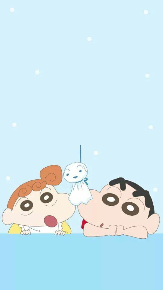 Himawari With Shinchan Cute Cartoon Wallpapers Cartoon Wallpaper Iphone Shin Chan Wallpapers