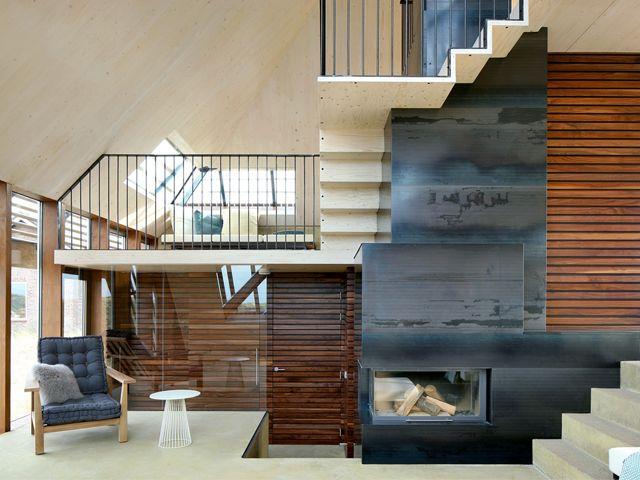 Droomhuis La House : Leuke trappen droomhuis