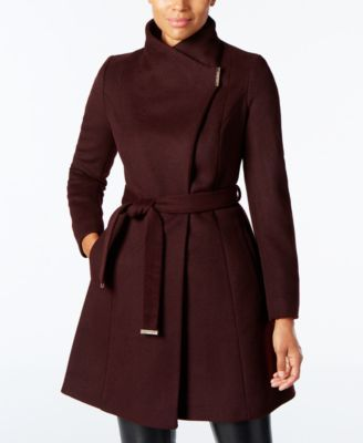 MICHAEL KORS Michael Michael Kors Wool-Blend Belted Walker Coat.   michaelkors  cloth   coats 0fc40f1a22