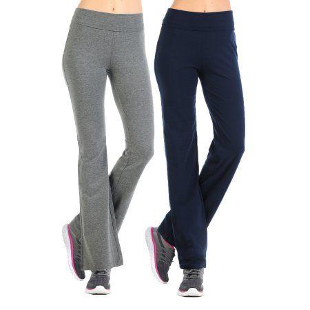 Jntop 2 Pack Cotton Fold Over Yoga Pants Navy Grey Medium Gray Fold Over Yoga Pants Yoga Pants Pants